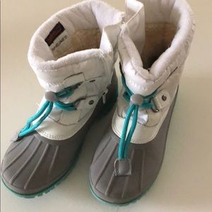 Girls Cat & Jack Snow Boots EUC